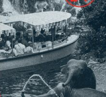 World Famous Jungle Cruise travel sticker Sticker