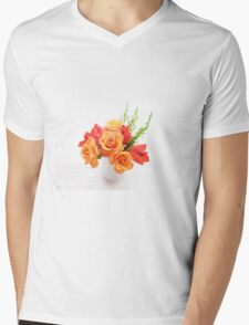 orange roses and leaves T-Shirt