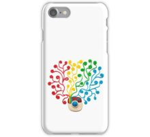 Plasticine instagram logotype iPhone Case/Skin