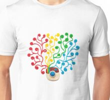 Plasticine instagram logotype Unisex T-Shirt
