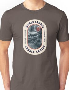 World Famous Jungle Cruise travel sticker T-Shirt