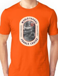 World Famous Jungle Cruise travel sticker Unisex T-Shirt