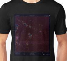 USGS TOPO Map Puerto Rico PR Cayo Icacos 362076 1958 20000 Inverted Unisex T-Shirt