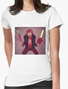 Duel Wielding Womens Fitted T-Shirt