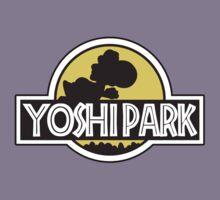 Yoshi Park  Parody Jurassic Park Kids Tee