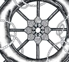 The Helm's Compass Sticker