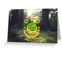 The Legend of Zelda - Emerald Stone Greeting Card