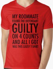 New Girl - Guilty shirt Mens V-Neck T-Shirt