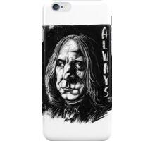 Snape Alan Rickman iPhone Case/Skin