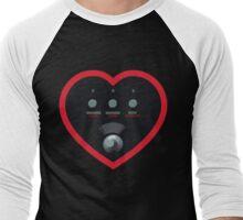 Analog Keys Heart Men's Baseball ¾ T-Shirt