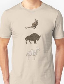 ABC in mammals - sepia version T-Shirt