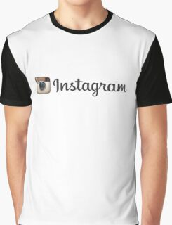 Instagram 3 Graphic T-Shirt