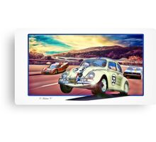 Herbie Goes To Monte Carlo Canvas Print