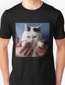 Displeased cat Unisex T-Shirt