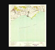 USGS TOPO Map Puerto Rico PR Guayama 362429 1952 30000 Unisex T-Shirt
