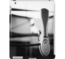 clothes peg iPad Case/Skin