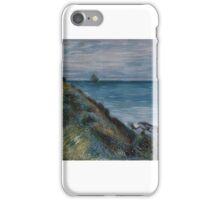On the Cliffs, Langland Bay, Wales iPhone Case/Skin