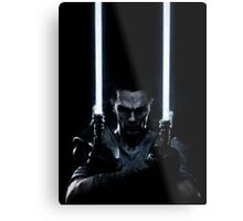 Lightsaber dude Metal Print