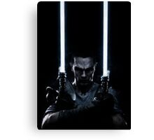 Lightsaber dude Canvas Print