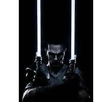 Lightsaber dude Photographic Print