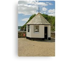 Old Harbourmaster Office, Charlestown Canvas Print