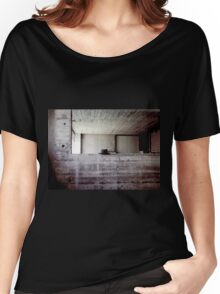hat during lunchbreak Women's Relaxed Fit T-Shirt