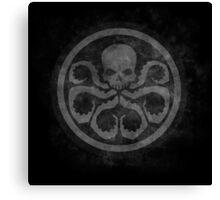 marvel hydra shield grunge Canvas Print