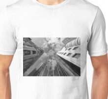 Melbourne Looking Up in B&W Unisex T-Shirt