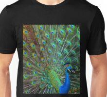 Dancing Peacock Unisex T-Shirt