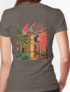 Enchanted Towers Womens Fitted T-Shirt