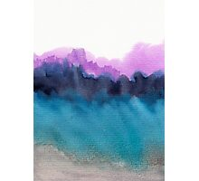 Watercolor abstract landscape 13 Photographic Print