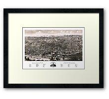 Albany - New York - 1879 Framed Print