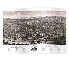 Albany - New York - 1879 Poster