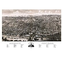 Albany - New York - 1879 Photographic Print
