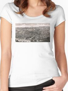 Albany - New York - 1879 Women's Fitted Scoop T-Shirt