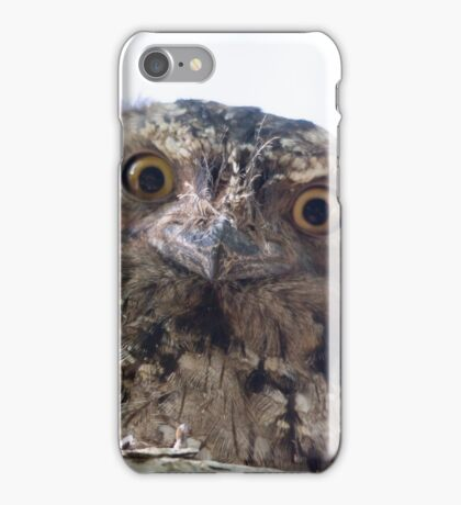 I Know You're There iPhone Case/Skin