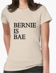 Bernie Is Bae Womens Fitted T-Shirt