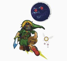 Zelda Majoras Mask One Piece - Short Sleeve
