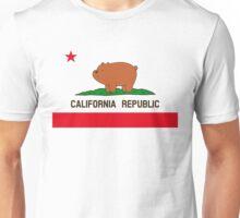 California Republic Bear Unisex T-Shirt
