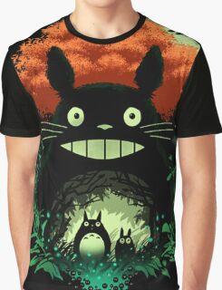 Totoro Dark Night Graphic T-Shirt