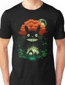 Totoro Dark Night Unisex T-Shirt