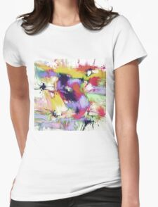 Splintered time Womens Fitted T-Shirt