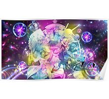 Rainbow Vibrant Colors - Death Parade Poster