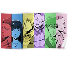 Slide Death Parade Characters Poster