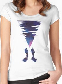 The thing Women's Fitted Scoop T-Shirt