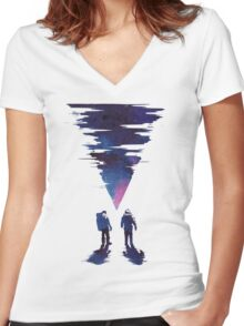 The thing Women's Fitted V-Neck T-Shirt