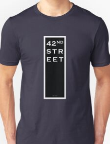 42nd Street - NYC Unisex T-Shirt