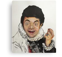 Blackadder Bean Mash-Up Canvas Print