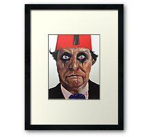 Tommy Cooper vs Alice Cooper Framed Print