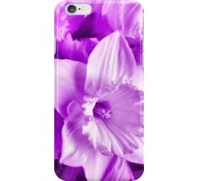 MAUVE DAFFODILS COLLECTION iPhone Case/Skin